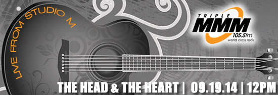 See The Head And The Heart In Live From Studio M